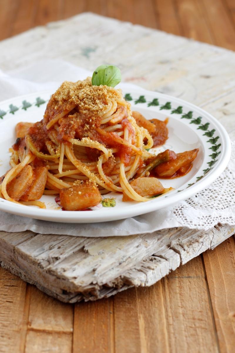 spaghetti col cavolo rapa