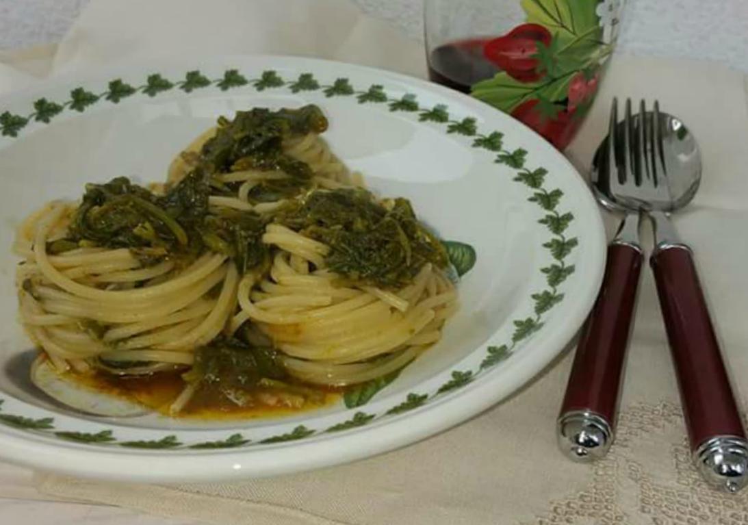 spaghetti con sanapo