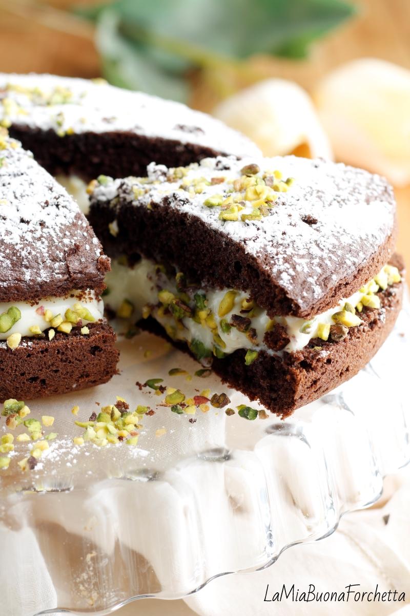 torta cioccolato e crema