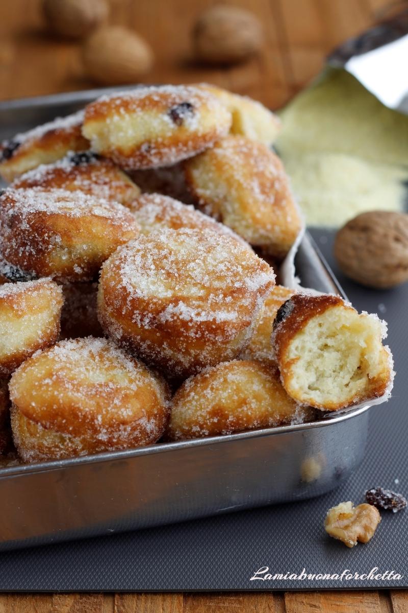frittelle impasto con fiocchi di patate