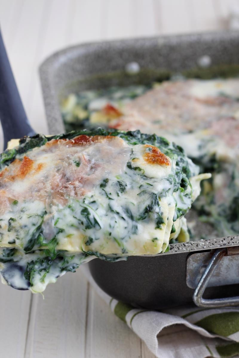 lasagne spinaci e besciamella