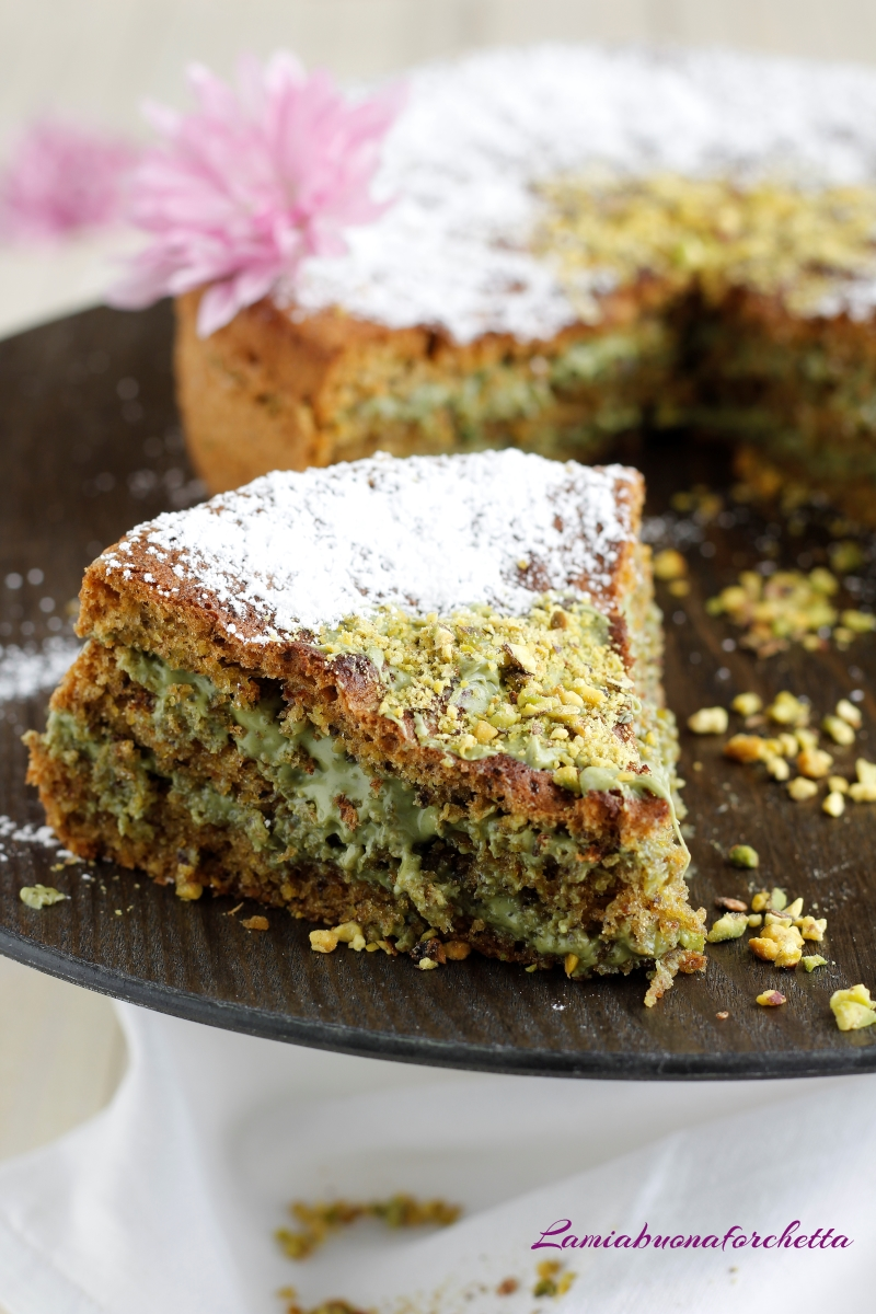 torta al pistacchio senza glutine