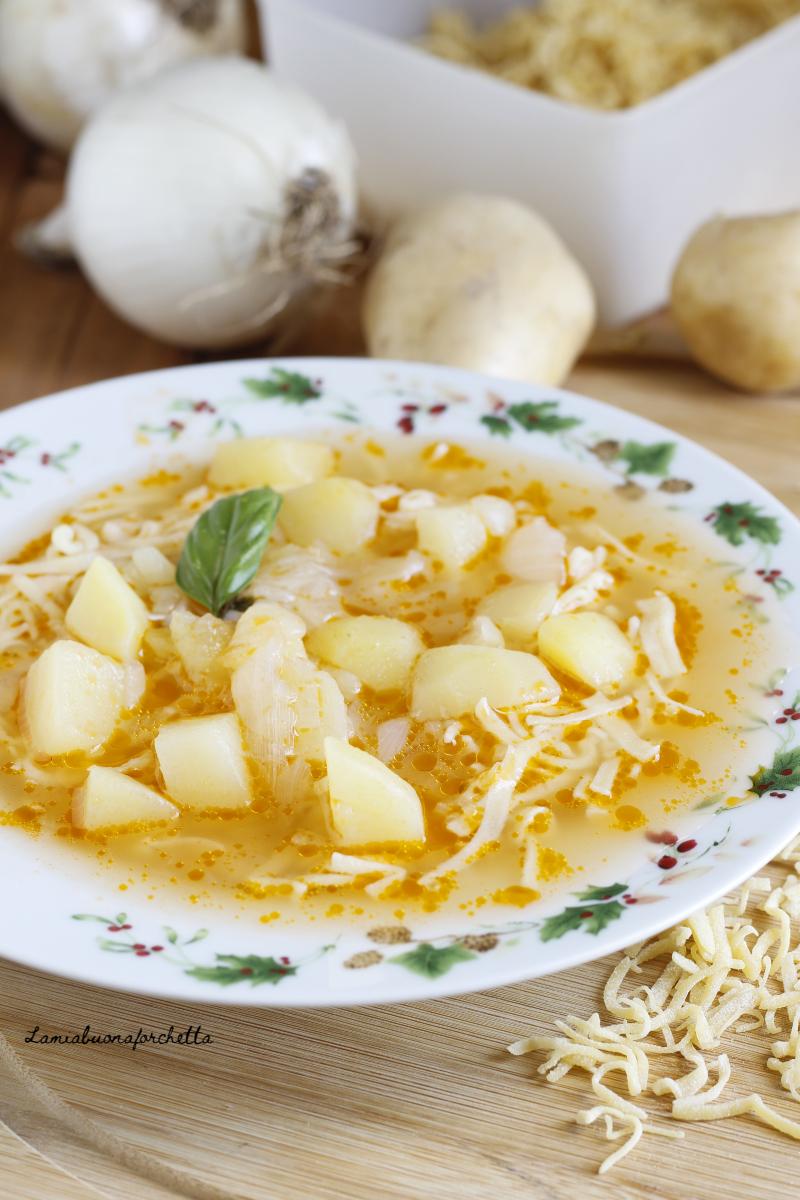 pasta patate e cipolle