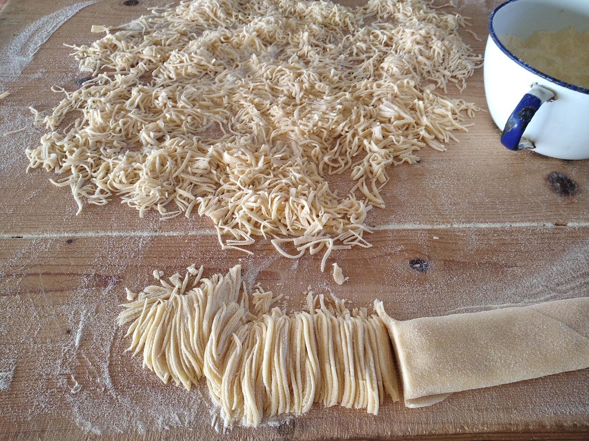 taglierini pasta all'uovo